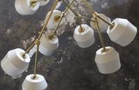 Lámparas de Materia Designs: porcelana y metal para objetos lumínicos