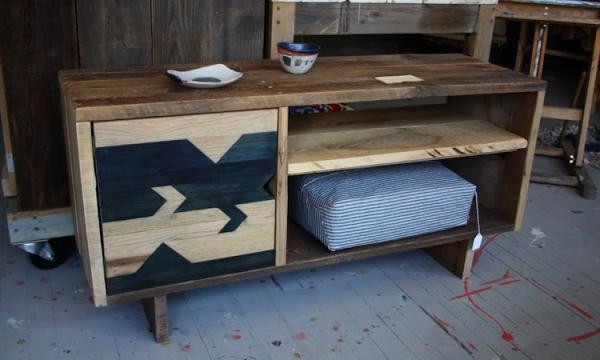 muebles madera recuperada materiales de construcci n