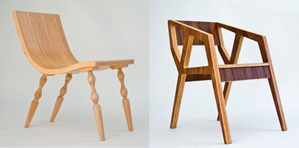 Muebles de madera laminada de harbenger duo decototal - Muebles de madera de diseno ...