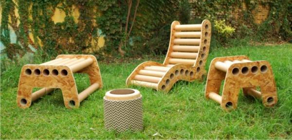 Pomada, muebles de cartón  DecoTotal