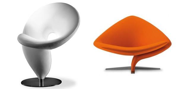 Sillones futuristas de tonon decototal for Sillones diseno italiano