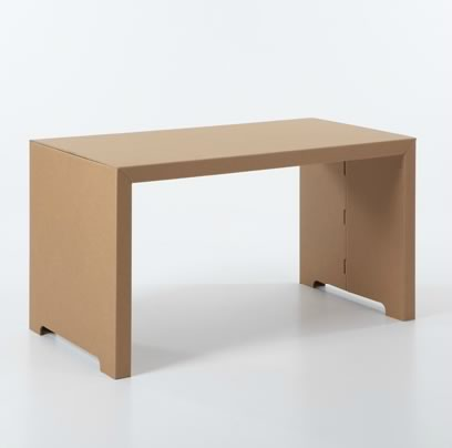 Kubedesign muebles de cart n decototal for Muebles de carton precios