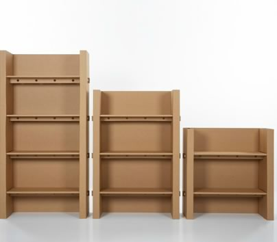 Kubedesign muebles de cart n decototal - Carton para muebles ...