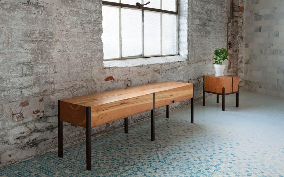 Miles may muebles artesanales de maderas reclamadas for Muebles artesanales
