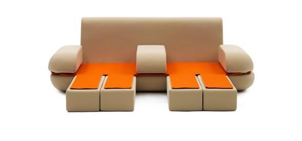 Muebles transformables de la firma italiana campeggi for Muebles transformables