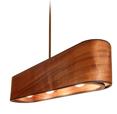 Phosphoria l mparas de madera decototal - Lamparas colgantes de madera ...