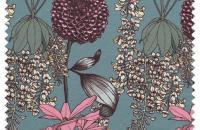Abigail Borg, ilustraciones botánicas plasmadas en textiles y papeles