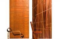 Paneles de maderas reutilizadas de B&N