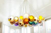 Bocci, lámparas de vidrio soplado