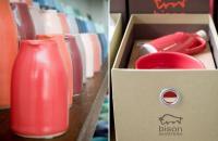 Bison, cerámicas australianas