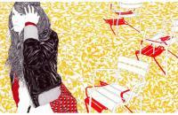 Carine Brancowitz, artista de la birome