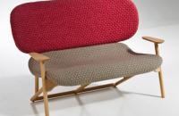 Colección de muebles Klara de Moroso